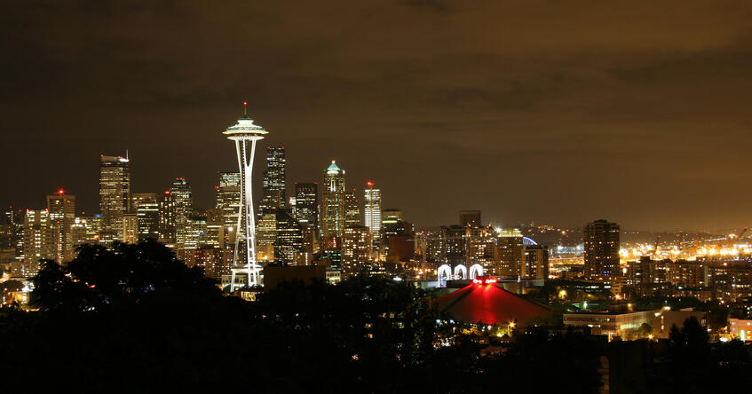 night-time-skyline-seattle-washington, health care, hospital administration, health care innovation, patient safety, public health, health care quality